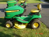 x300 mower with 42in deck and only 192 hrs any