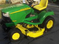 "420 hours ,2003,21HP Kawasaki ,54"" Shaft drive mower"