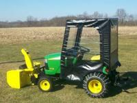 John Deere X728 Ultimate - 4 wheel drive - 27 HP -