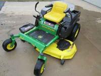 "John Deere Z425 Zero Turn Mower -54"" Cutting Deck -23"