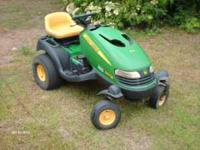 John Deere zero turn mower for parts or repair. Model