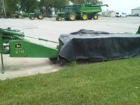 Nine foot 270 disc mower. 540 PTO. Newer knives and