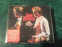 JOHN DENVER 2 CD SET  THE WILD LIFE CONCERT CDS    HIS