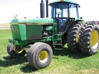 JOHN DEERE 4840....8400 HOURS....NEW REAR TIRES...NICE