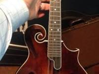 I have a 2013 Gathright F5 mandolin for sale. New it's
