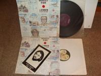 JOHN LENNON 1- live in toronto w/ eric clapton.... lp