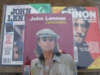 3 Tribute Magazines of John Lennon from 1980, when he