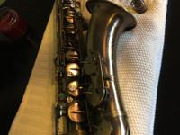 John Packer Deluxe Bb Tenor Saxophone (vintage finish)