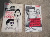 Offered for sale is a pair of John Williams Comedy