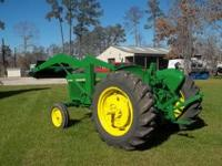 Great Running John Deere 1020 tractor with front end
