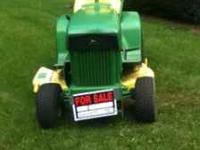 John Deere 112 $800  leave a message All John Deere and