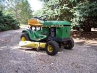 Very nice John Deere Lawn Tractor. Owned for past