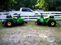 John Deere 1200A Ball Field Rake Completely