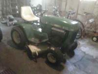 For Sale John Deere 210 lawn mower, Kohler 10HP Cast