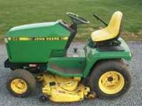 "14 HP KAWASAKI HYDRO TRANS 48"" DECK YEAR 1993 CALL"
