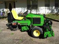 John Deere 2653A Ball Field Mower $10,500 Great for