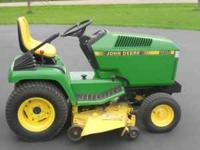 285 john deere mower, 18 hp kawasaki liquid cooled