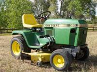 Good condition. New John Deere seat, blades and battery