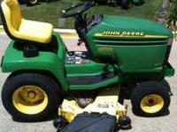 This is an extremely clean John Deere Garden Tractor
