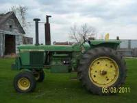 selling John Deere 4320 tractor with 6100 hrs.all