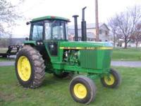 JOHN DEERE 4440. 3100 HRS,OUT OF FRAME OVERHAUL,NEW