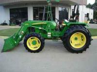 65 hp 5303 John Deere tractor with a 553 loader. Local