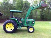 John Deere 6300 Diesel Tractor, 82 Horse Power, 2 Wheel