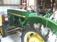 New battery, good tires, live PTO, front loader
