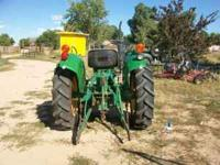 John deere 850 3pt pto front weights like new tires