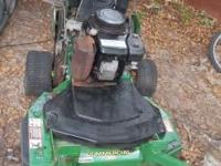 John Deere Commercial mower runs perfect and is in