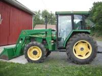 We are selling a great John Deere tractor. It is in