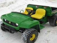 I have 2 John Deere Gator 4x2's (2 wheel drive) with