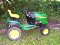 I have a John Deere L-120 in very good condition and