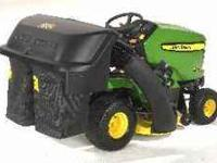 John Deere X300 with double bagger $2,500 or best