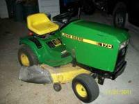 I HAVE A 1996 J.D. RIDING MOWER WITH A KAWASKI 14.5 HP.