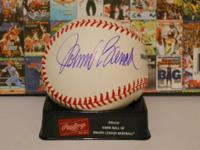 Johnny Bench and Joe Torre autographed Major League