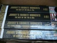 Johnny Carson Hits - VHS  $6.  Call 218-73O-741nine