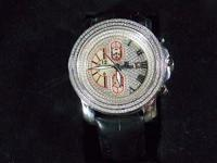 Used .75ct Johnny Dang Watch. The watch is in excellent