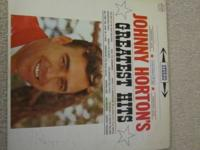 Johnny Horton's Greatest Hits album in great condition,
