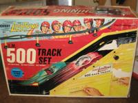 Johnny Lightning 500 Track Set with 4 Cars Complete
