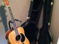Johnson Acoustic guitar: Model JG-675-N. Excellent