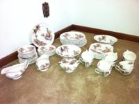 Johnson Brothers Old Mill Collection China Set for 10.