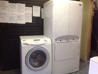 We have lots of devices like new., washers, Dryers,