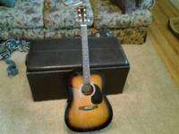 Johnson Dreadnought jg-620 acoustic guitar. Almost
