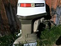 Johnson 85hp outboard was going to put it on a Pontoon