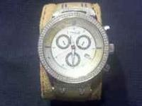 Jojo diamond watch ...2.50ct..great watch ...for more