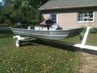 BOAT: Gamefisher 13.5 foot Alluminum Jon Boat