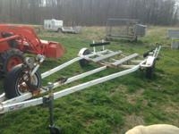 Jon or V-Boat Trailer for 18' boat. 1980 Trailer Craft