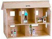 Jonti Craft Doll House with Flip Open Roof Open roof