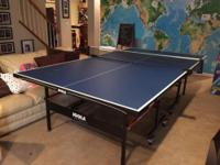 This ping pong table sells for $400 on Amazon. Buy it